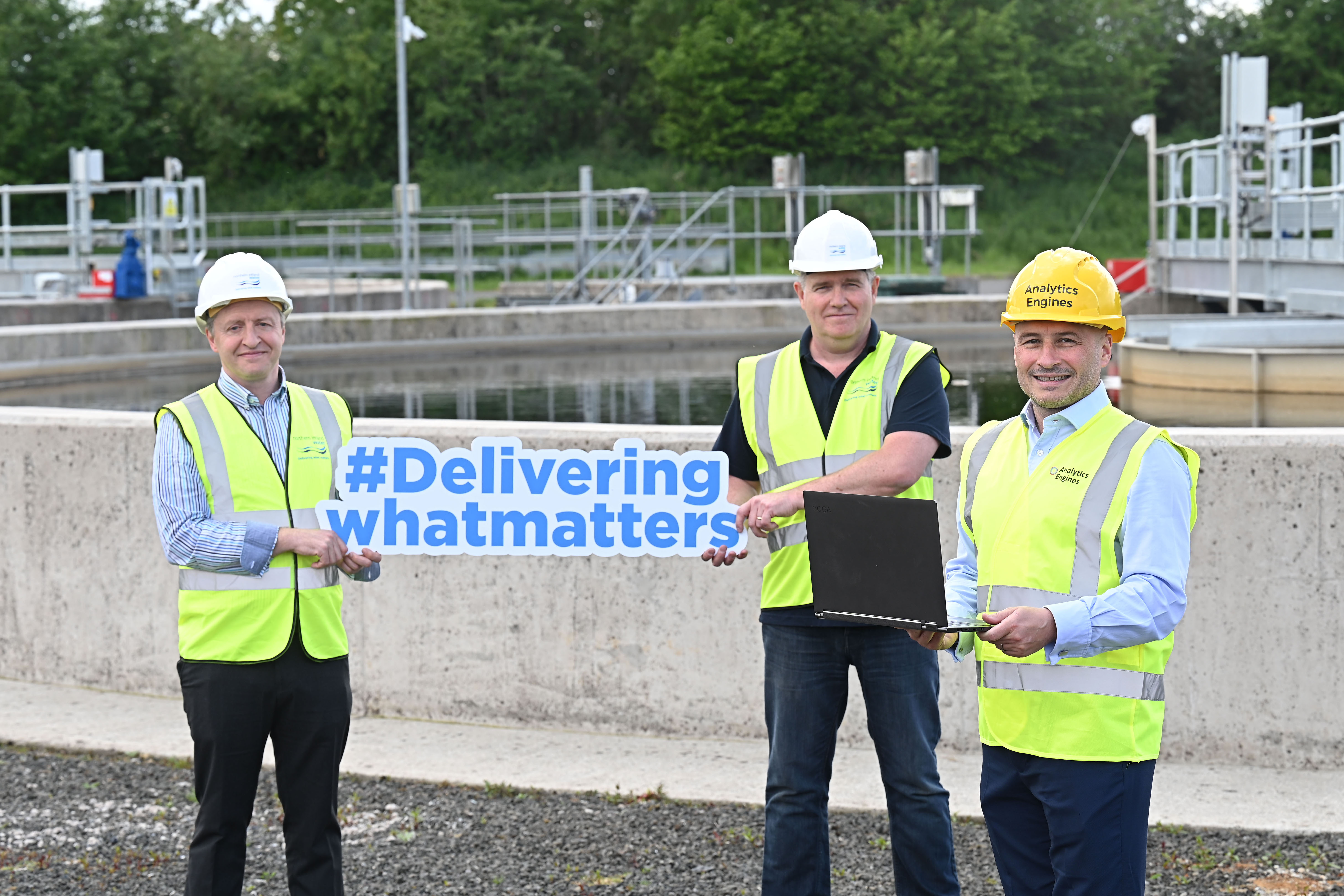 NI Water Taps into Local Expertise for Innovation in Water and Wastewater Treatment